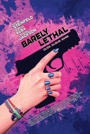 Barely Lethal - Theatrical release poster