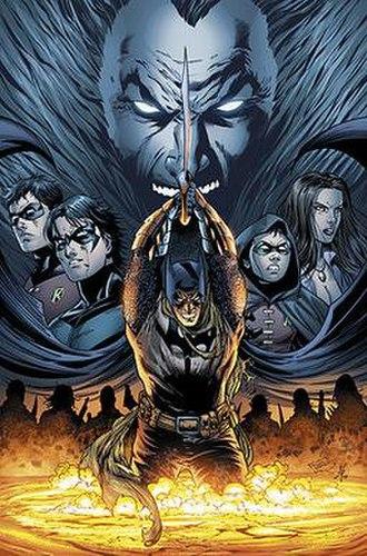 Ra's al Ghul - Ra's al Ghul returns from the dead.  Art by Tony Daniel.