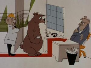 "The Bear That Wasn't - ""You are not a bear; you are a silly man who needs a shave and wears a fur coat."""