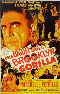 <i>Bela Lugosi Meets a Brooklyn Gorilla</i> 1952 film by William Beaudine