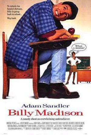 Billy Madison - Theatrical release poster