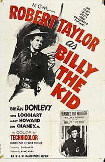 <i>Billy the Kid</i> (1941 film) 1941 film by Frank Borzage, David Miller