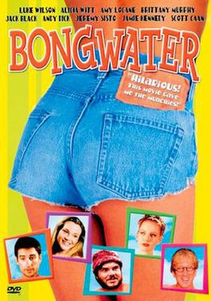 Bongwater (film) - DVD Cover