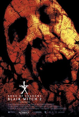Book of Shadows: Blair Witch 2 - Theatrical release poster