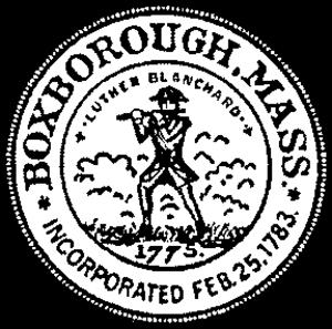 Boxborough, Massachusetts - Image: Boxborough MA seal