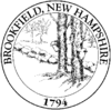Official seal of Brookfield, New Hampshire