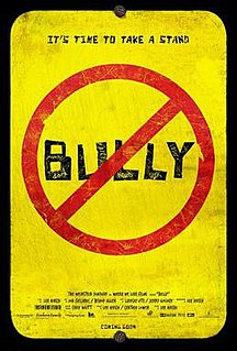 <i>Bully</i> (2011 film) 2011 documentary film directed by Lee Hirsch