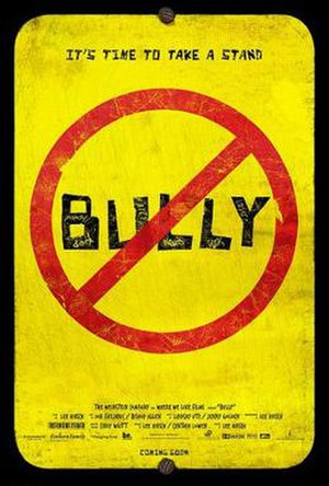 Bully (2011 film) - Official theatrical release film poster of Bully