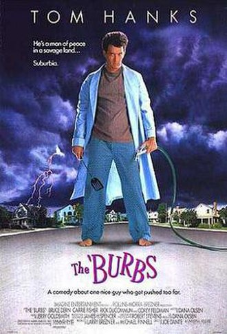 The 'Burbs - Theatrical release poster