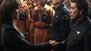 Cain meets Adama in the Pegasus episode of Battlestar Galactica.jpg