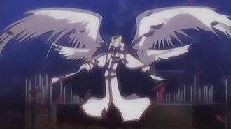 Trinity Blood - Cain, Crusnik 01, in his Crusnik form