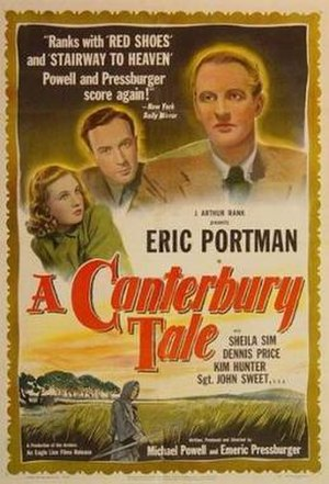 A Canterbury Tale - US theatrical poster (1949)