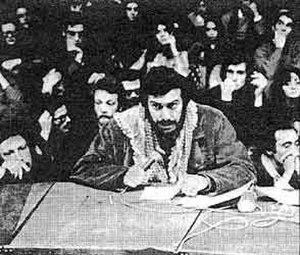 Mario Capanna - Mario Capanna as student leader (1968)