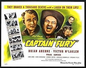 Captain Fury - Image: Captain Fury Film Poster