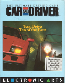 Car And Driver Video Game Wikipedia - Car and driver