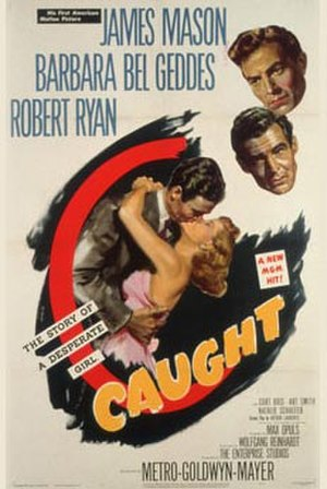 Caught (1949 film) - Theatrical release poster