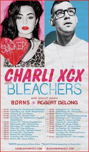 Charli and Jack Do America Tour - Image: Charli and jack do america poster cover