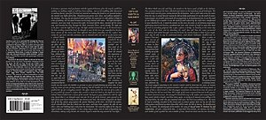 City of Saints and Madmen - Dust jacket for the Prime Books edition, with art by Scott Eagle as well as a story.
