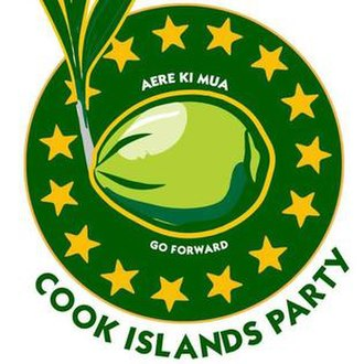 Cook Islands Party - Image: Cook Islands Party logo