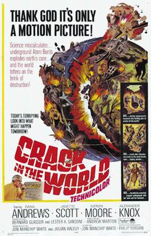 Crack in the World - 1965 US Theatrical Poster