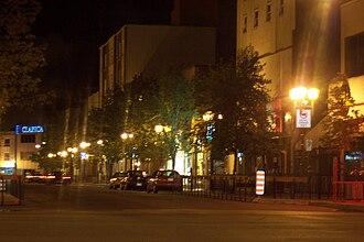 Rouyn-Noranda - Downtown Rouyn-Noranda.