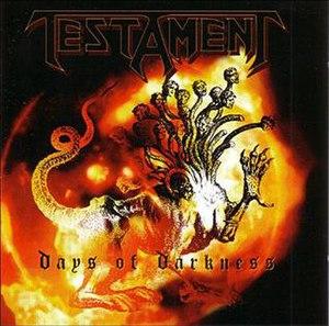Days of Darkness (album) - Image: Daysofdarkness