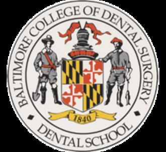 University of Maryland School of Dentistry - Image: Dentalschoollogo