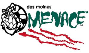 Des Moines Menace - Original Des Moines Menace logo