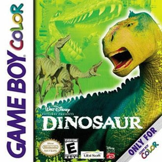 Disney's Dinosaur (video game) - North American Game Boy Color cover art