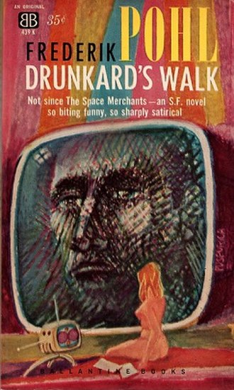 Drunkard's Walk (novel) - Cover of the first edition.