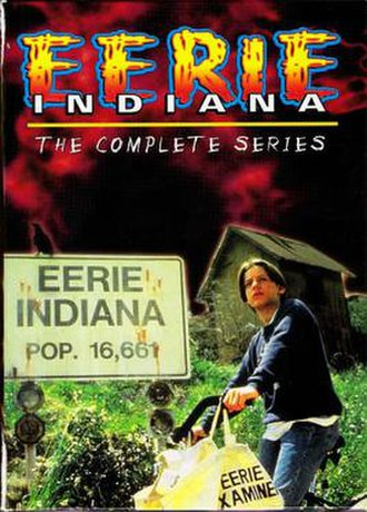 Eerie, Indiana - The Complete Series DVD cover