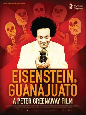 Eisenstein in Guanajuato - Theatrical release poster