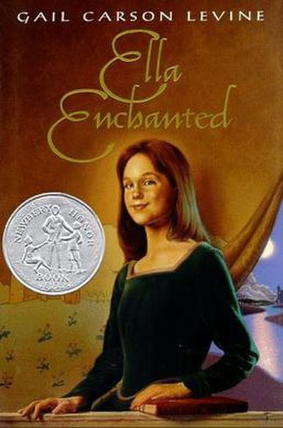 Picture of a book: Ella Enchanted