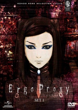 Ergo Proxy - Cover of the limited edition DVD Set 1 released in 2012