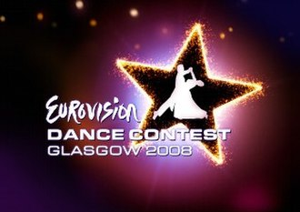 Eurovision Dance Contest 2008 - Image: Eurovision Dance Contest 2008 logo