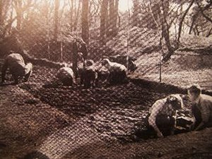 Dinas Powys hillfort - The excavations at Dinas Powys hillfort.