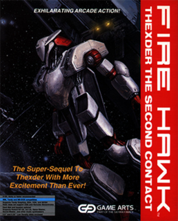 <i>Fire Hawk: Thexder - The Second Contact</i> 1990 video game