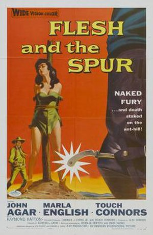 Flesh and the Spur - Image: Flesh and the Spur Film Poster