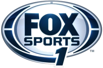Fox Sports 1 - Original logo, used full-time from August 17, 2013 to May 2015; currently used as an alternate logo.