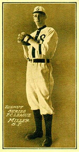 Frank Miller (baseball) - Image: Frank Miller (baseball)