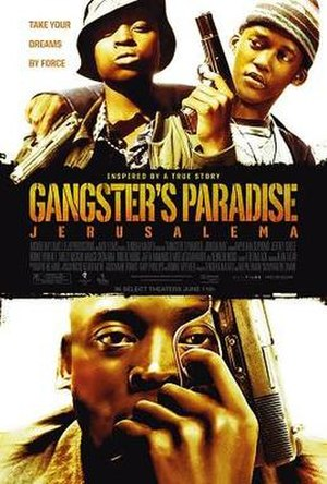 Gangster's Paradise: Jerusalema - Theatrical release poster