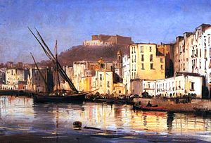 School of Posillipo - Image: Gigante 1800s