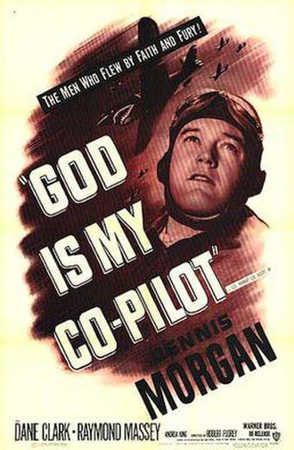 God Is My Co-Pilot (film) - Theatrical release poster