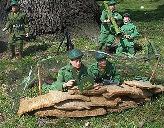 United States Army Special Forces in popular culture - Green Beret GI Joe figures courtesy Cap Troopers Base Camp