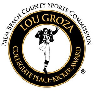 Lou Groza Award - The Lou Groza Award logo