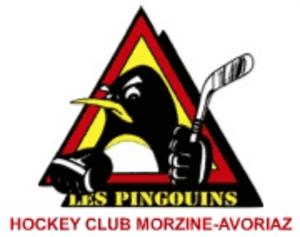 Pingouins de Morzine-Avoriaz - Image: HC Morzine Avoriza logo