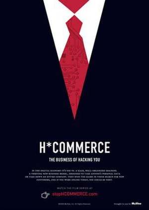 H*Commerce: The Business of Hacking You - Image: H Commerce film poster
