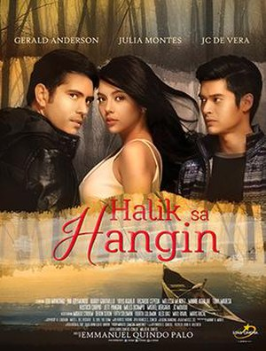 Halik sa Hangin - Theatrical release poster