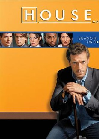 House (season 2) - Image: House MD s 2 AU DVD