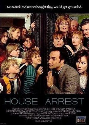 House Arrest (film) - Theatrical release poster